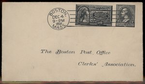 Collectibles Enthusiastic Usa 1879 'vienna Lager Beer' 3c Banknote Cover Boston Massachusetts United States